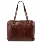Preview: Tuscany Leather Shopper Ravenna Braun