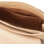 Preview: Schultertasche Fresia champagner interieur-1
