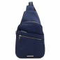 Preview: Unisex Brusttasche Albert blau