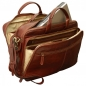 "Preview: Old Angler Leder-Laptoptasche ""Exclusiva"" Detail"