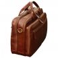 "Mobile Preview: Old Angler Leder-Laptoptasche ""Exclusiva"" seitenansicht"
