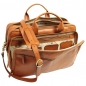 "Preview: Old Angler Leder-Laptoptasche ""Exclusiva"" colonial interieur"