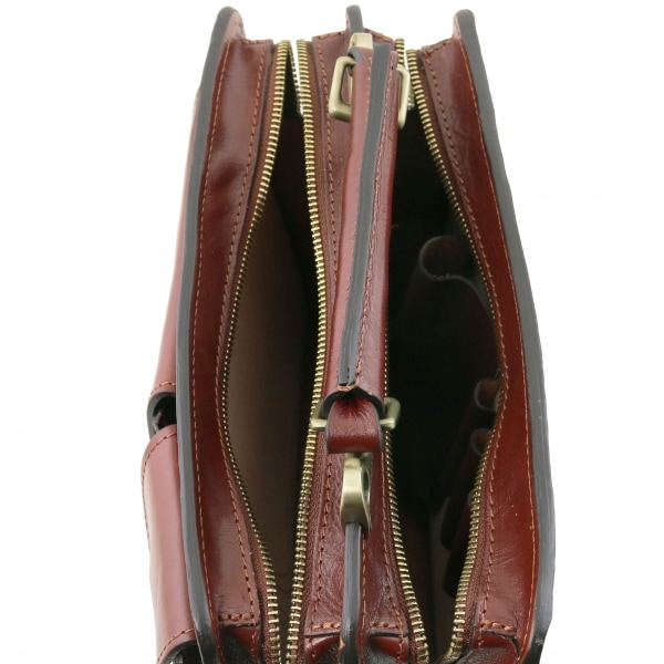 Tuscany Leather Handtasche Tania Braun Inside
