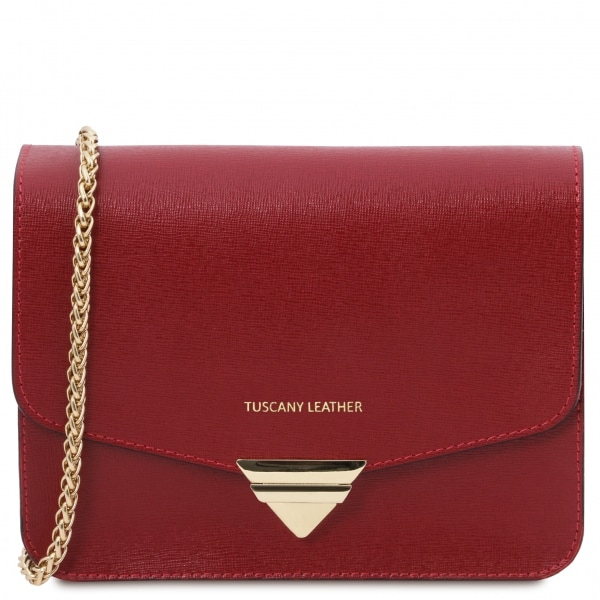 Tuscany Leather Clutch Rot