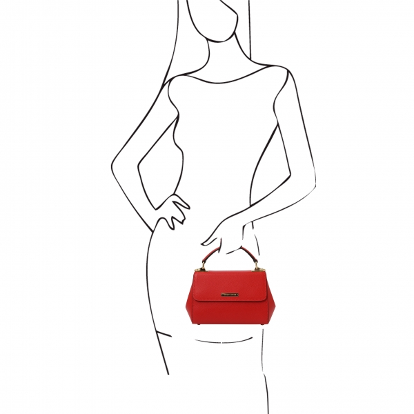 TL Bag Mini-Handtasche rot outfit