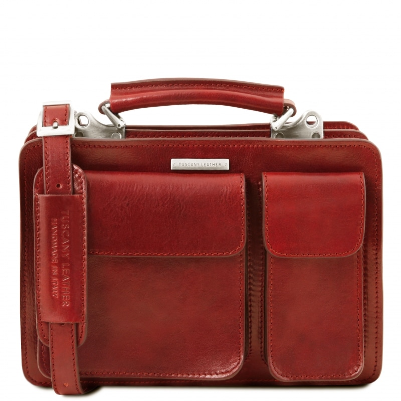 Tuscany Leather Handtasche Tania Rot
