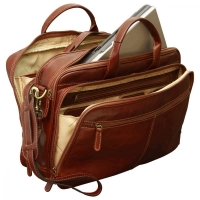 "Old Angler Leder-Laptoptasche ""Exclusiva"""